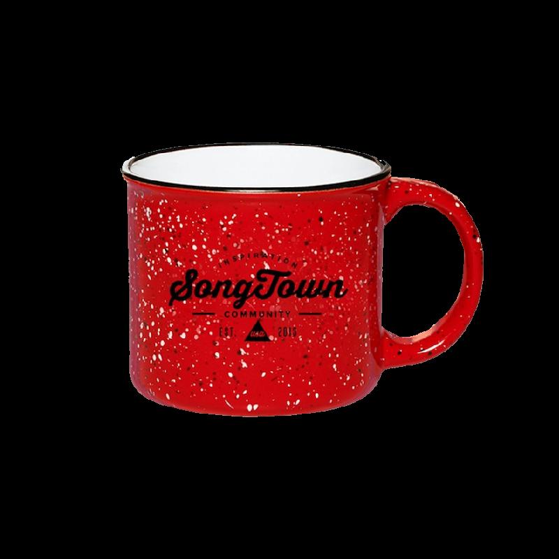 Songtown Red Campfire Mug
