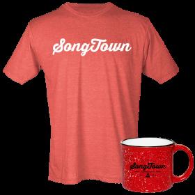 Songtown Tee and Campfire Mug Bundle