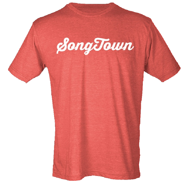 Songtown Heather Red Tee- PRESALE