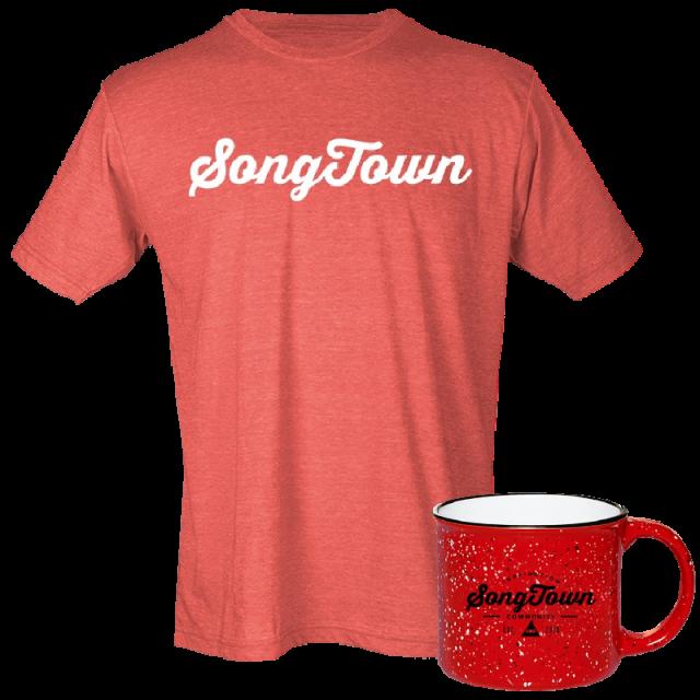Songtown Tee and Campfire Mug Bundle- PRESALE