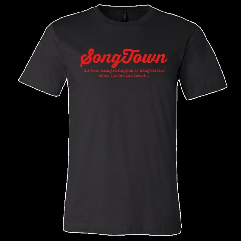 Songtown Black Tee
