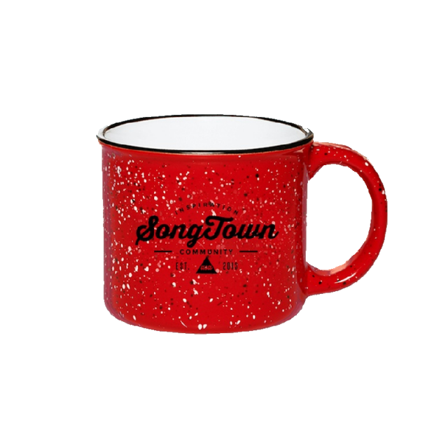 Songtown Red Campfire Mug