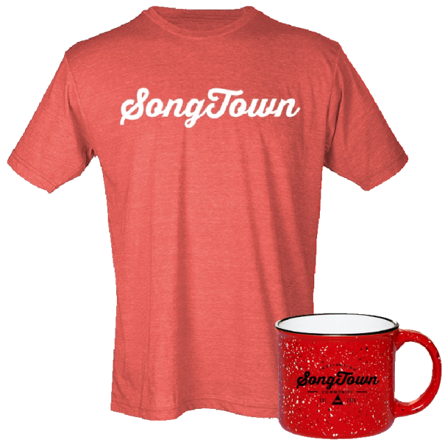 Songtown Tee and Campfire Mug Bundle